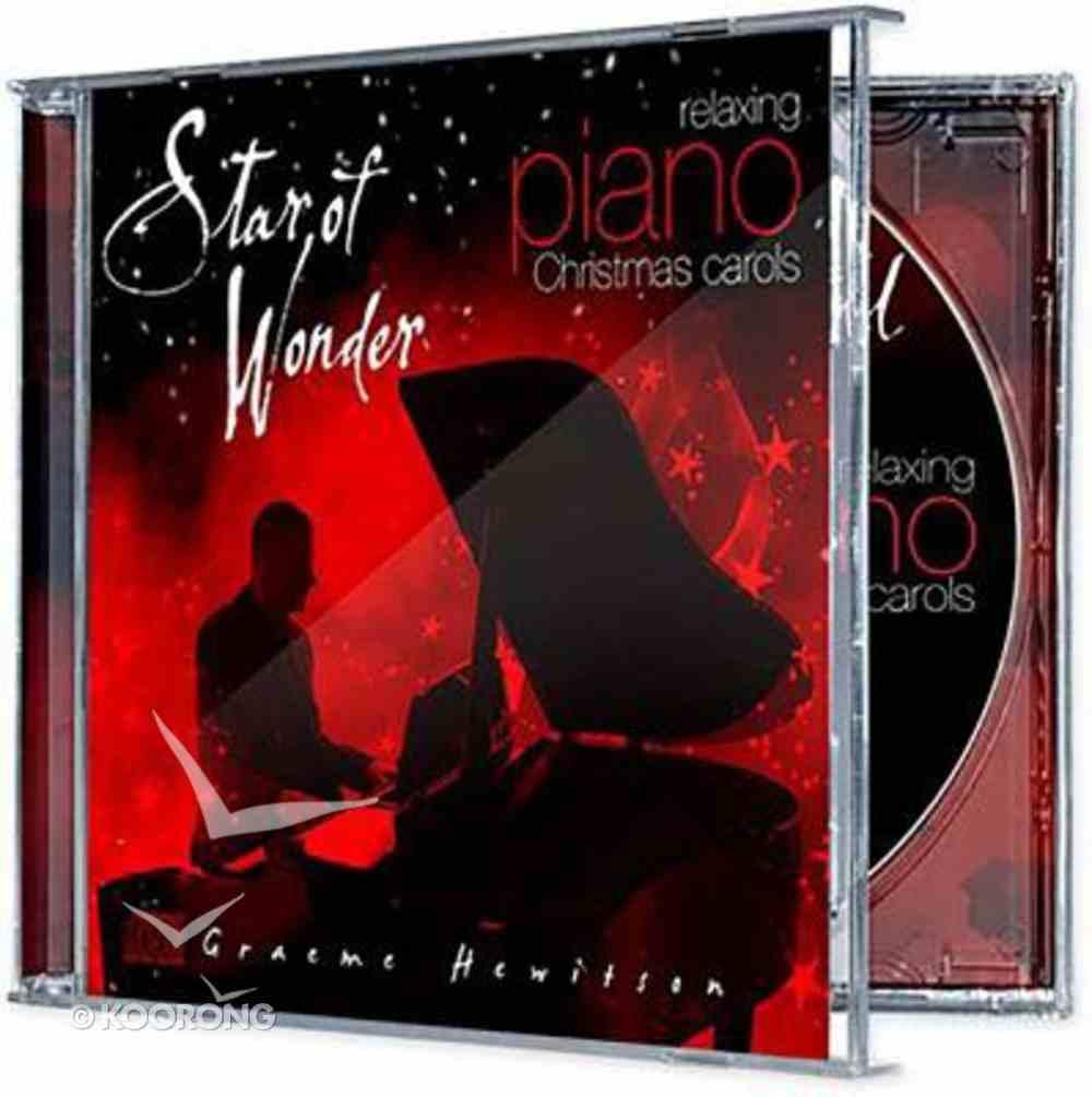 Star of Wonder: Relaxing Piano Christmas Carols CD