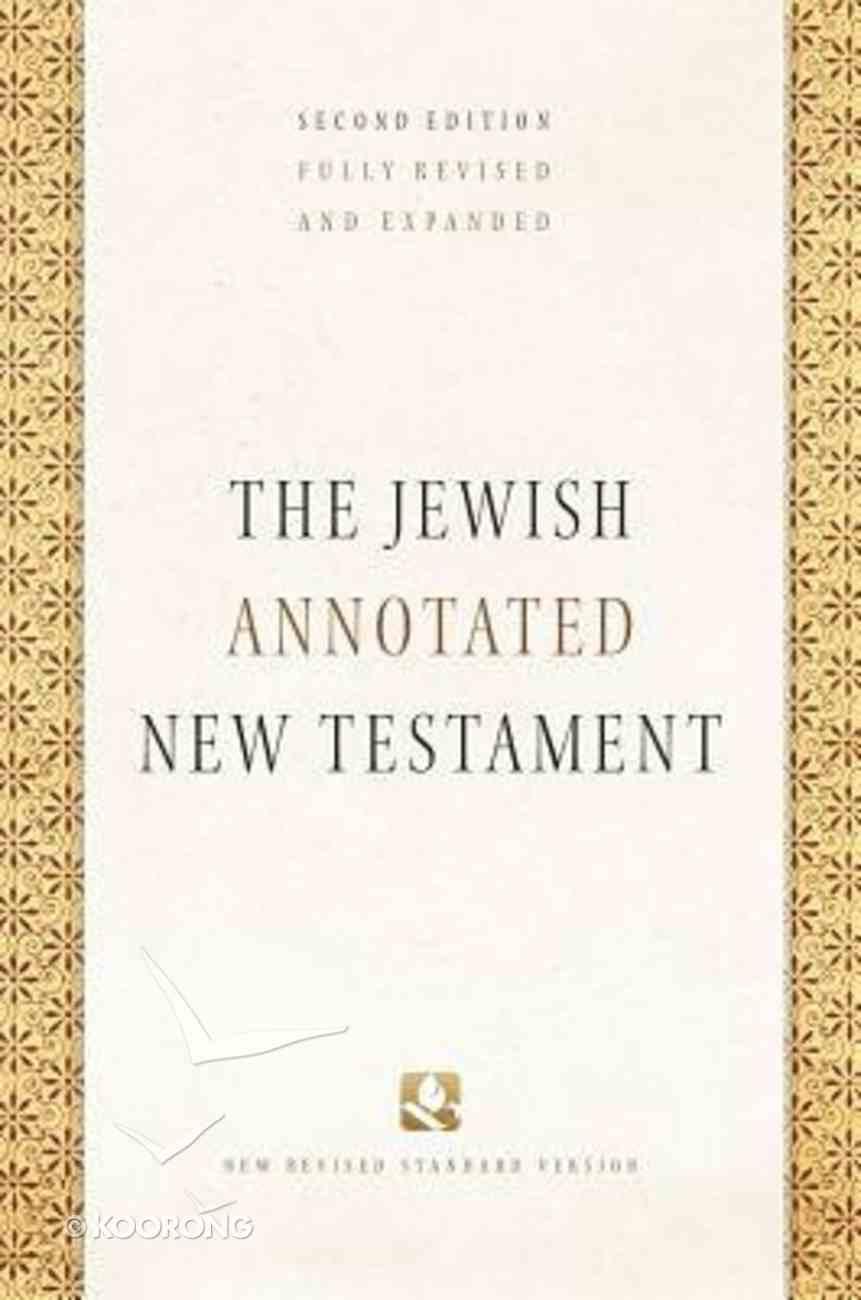 The NRSV Jewish Annotated New Testament (2nd Edition) Hardback
