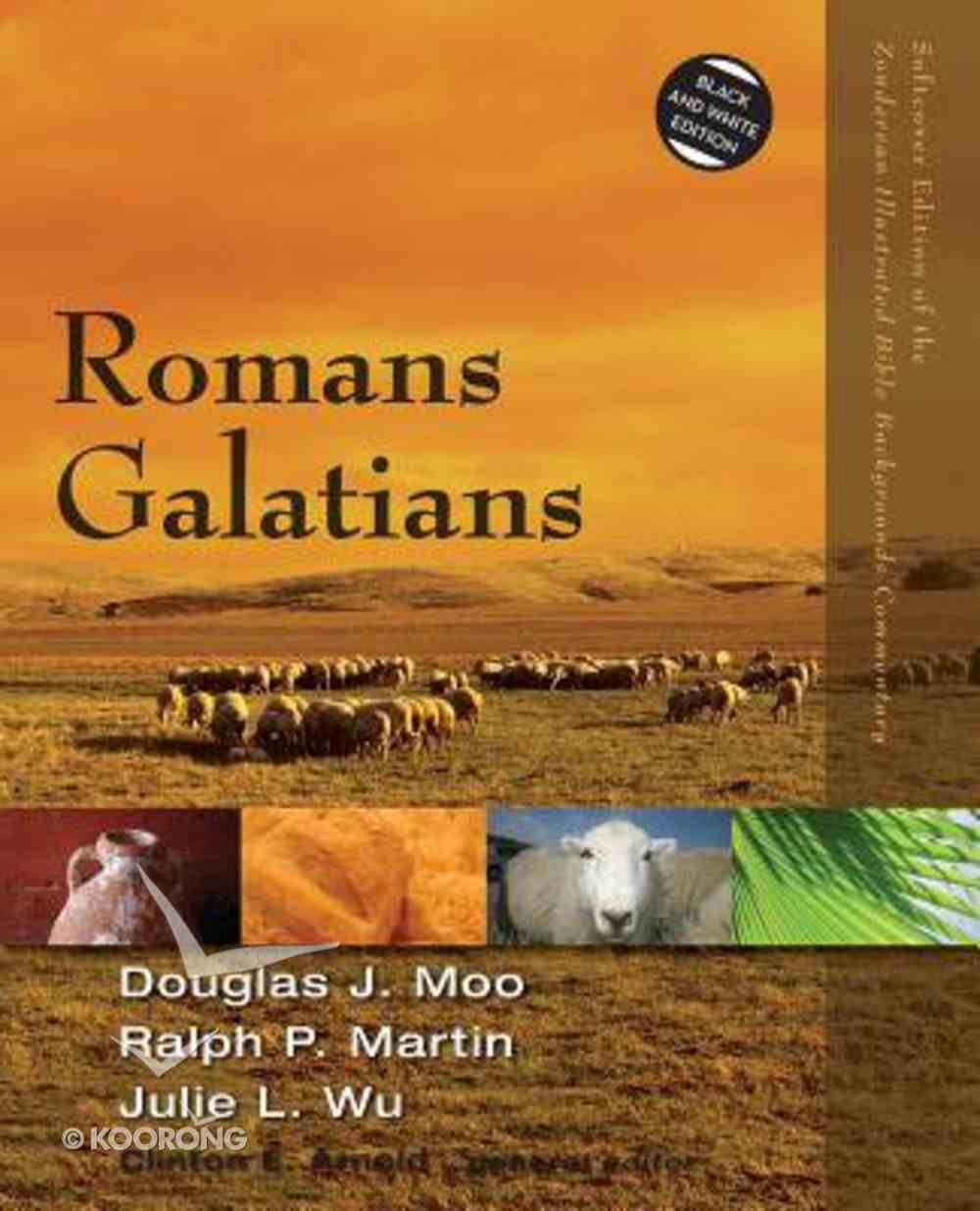 Romans, Galatians (Zondervan Illustrated Bible Backgrounds Commentary Series) Paperback