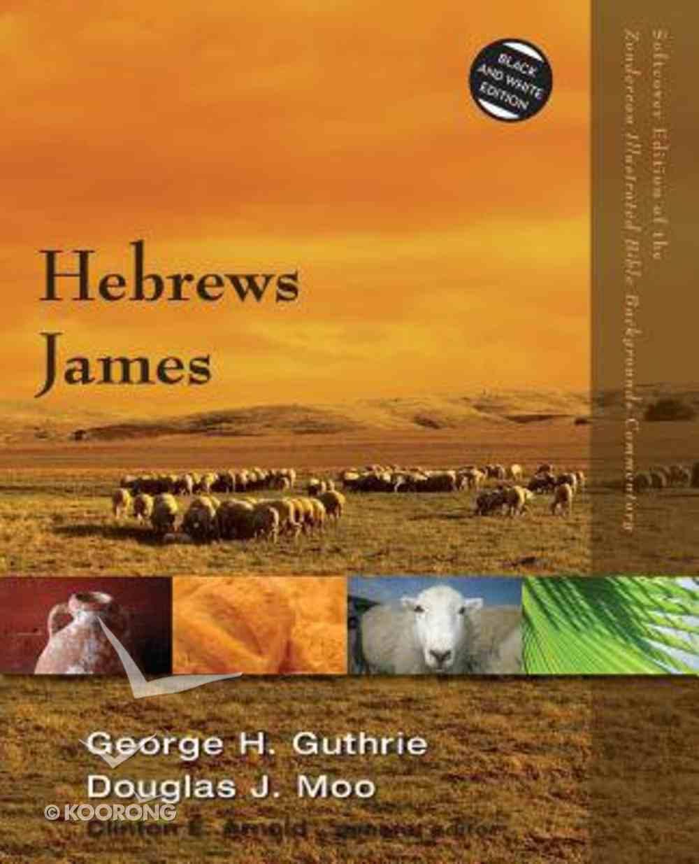 Hebrews, James (Zondervan Illustrated Bible Backgrounds Commentary Series) Paperback