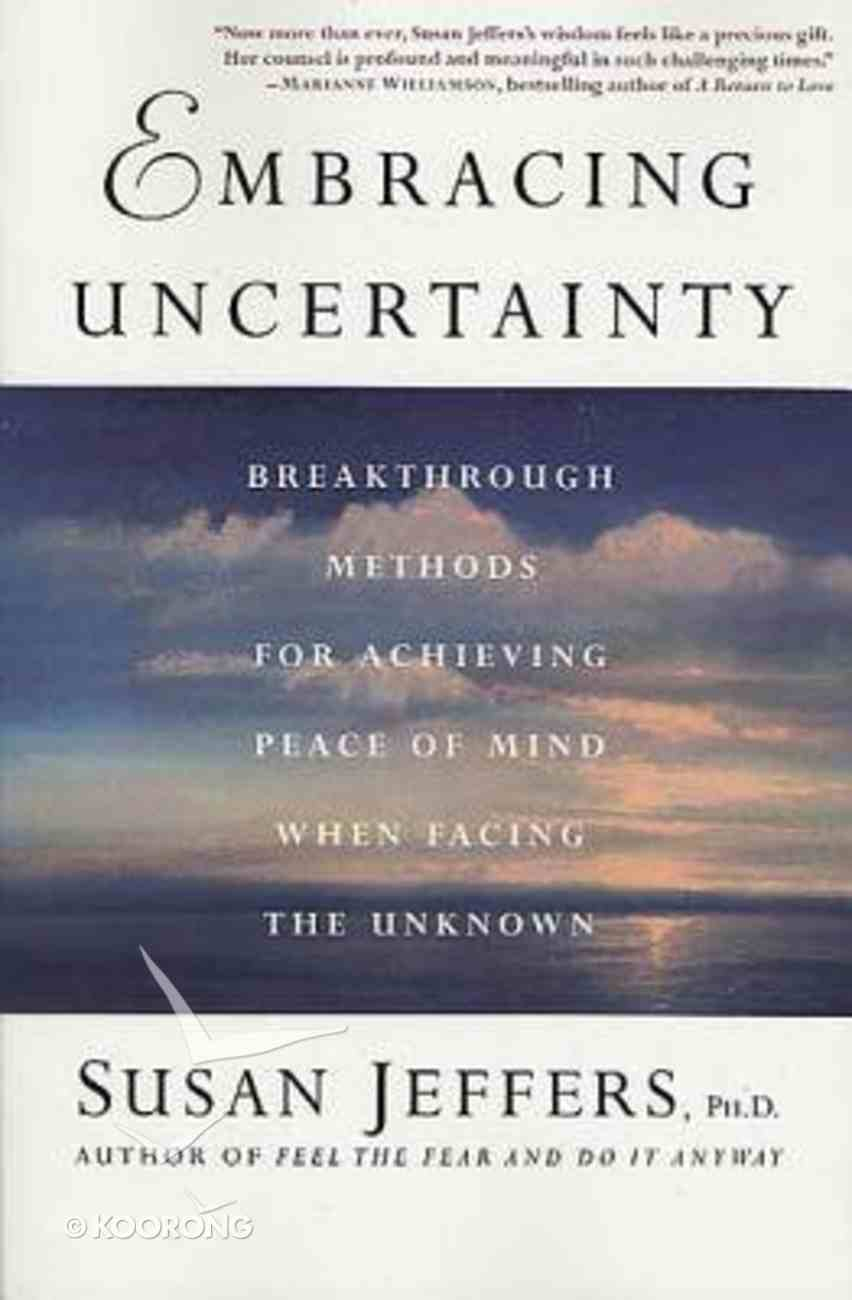Embracing Uncertainty Paperback