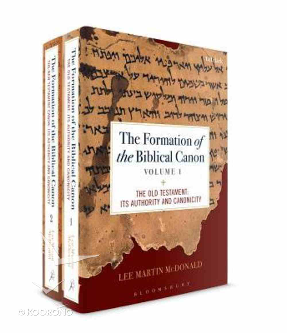 The Formation of the Biblical Canon (2 Volume Set) Hardback