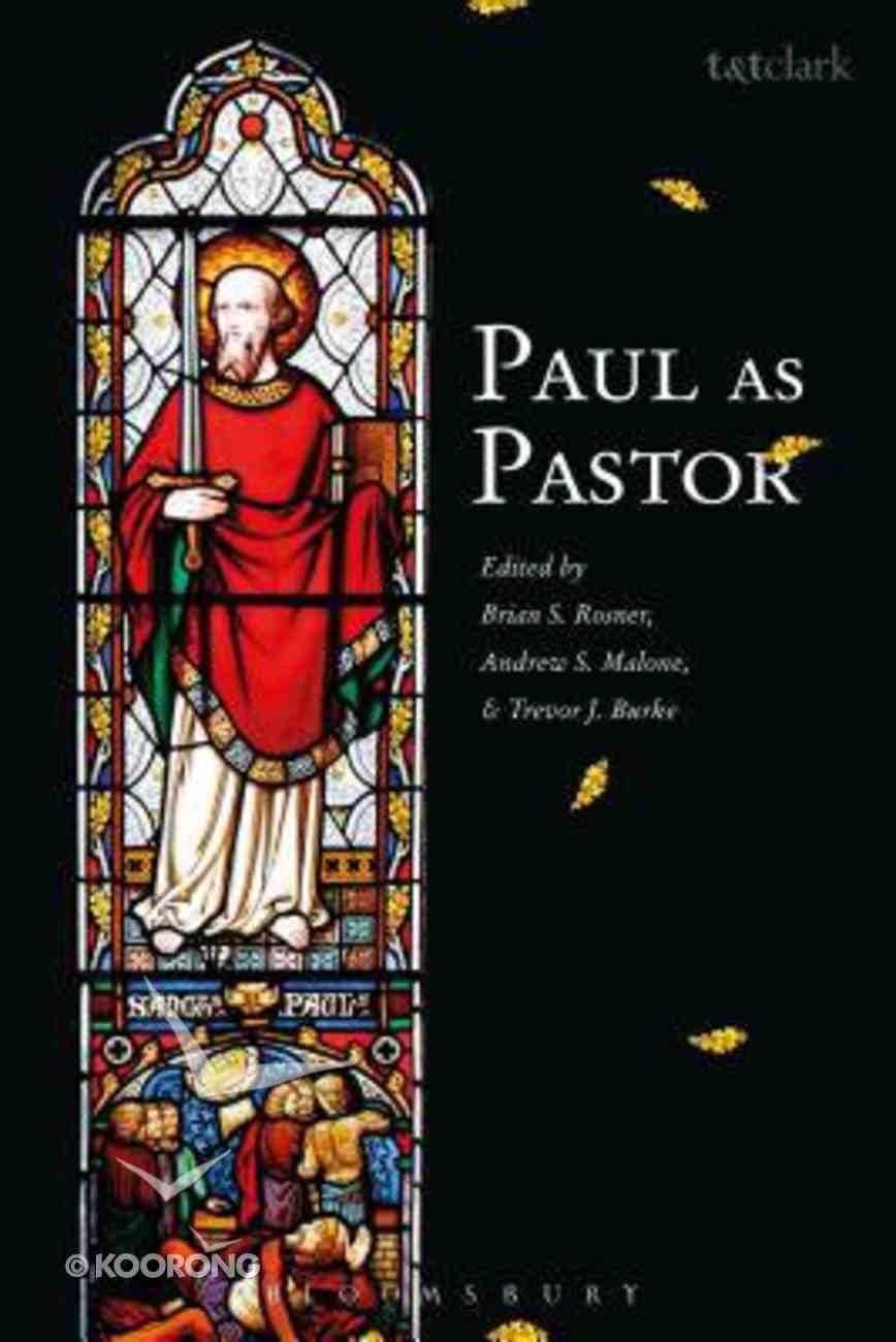 Paul as Pastor Hardback