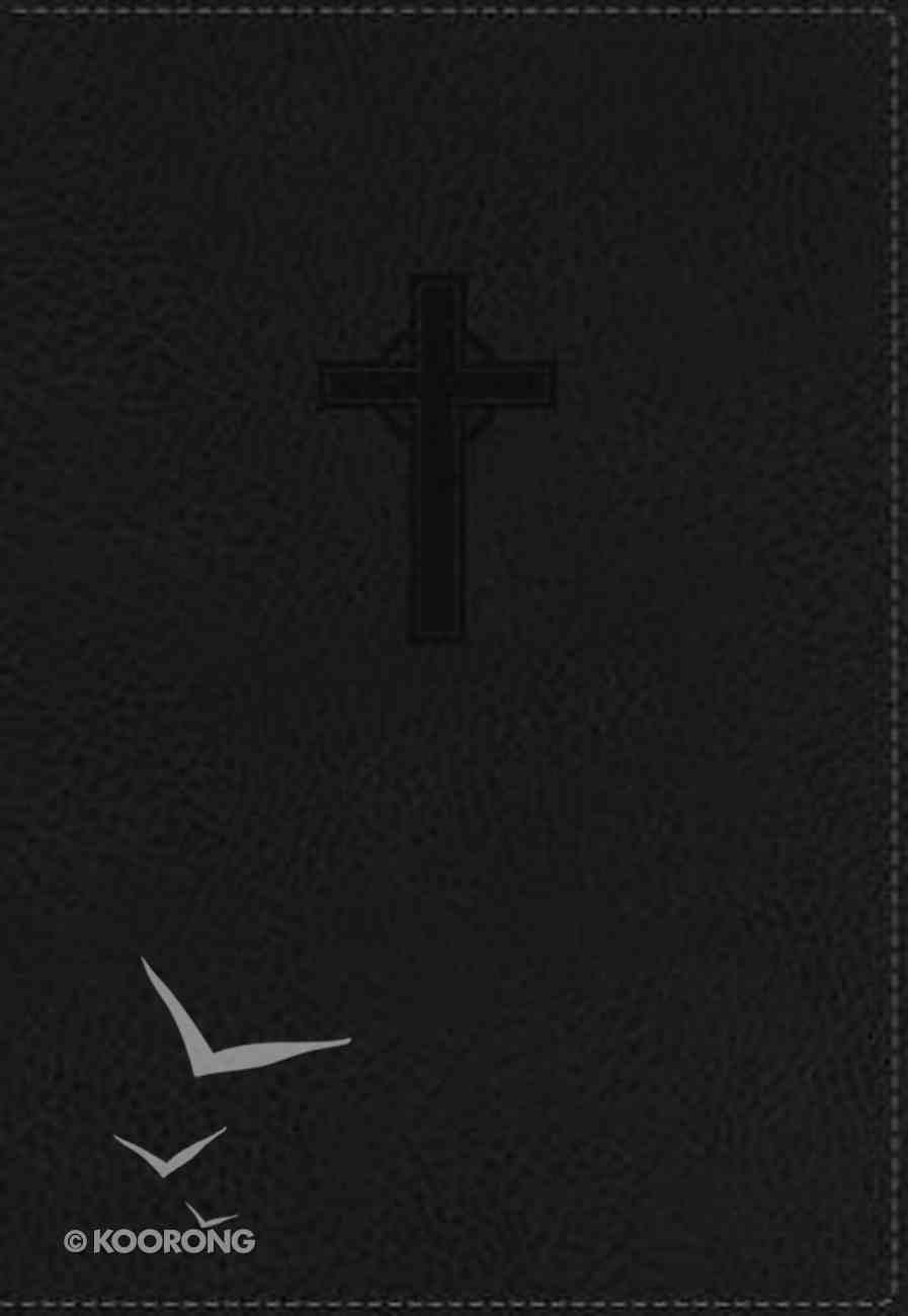 NKJV Ultraslim Reference Bible Black Imitation Leather