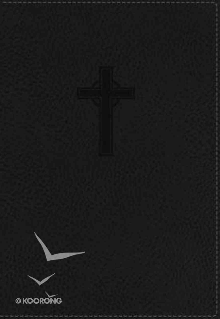 NKJV Compact Large Print Reference Bible Black Imitation Leather