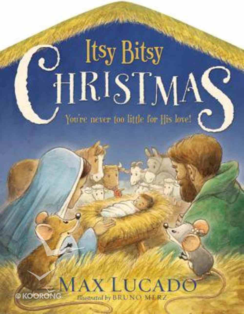 Itsy Bitsy Christmas Board Book
