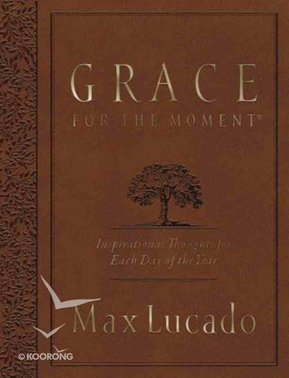 Grace For the Moment (Large Deluxe) Paperback
