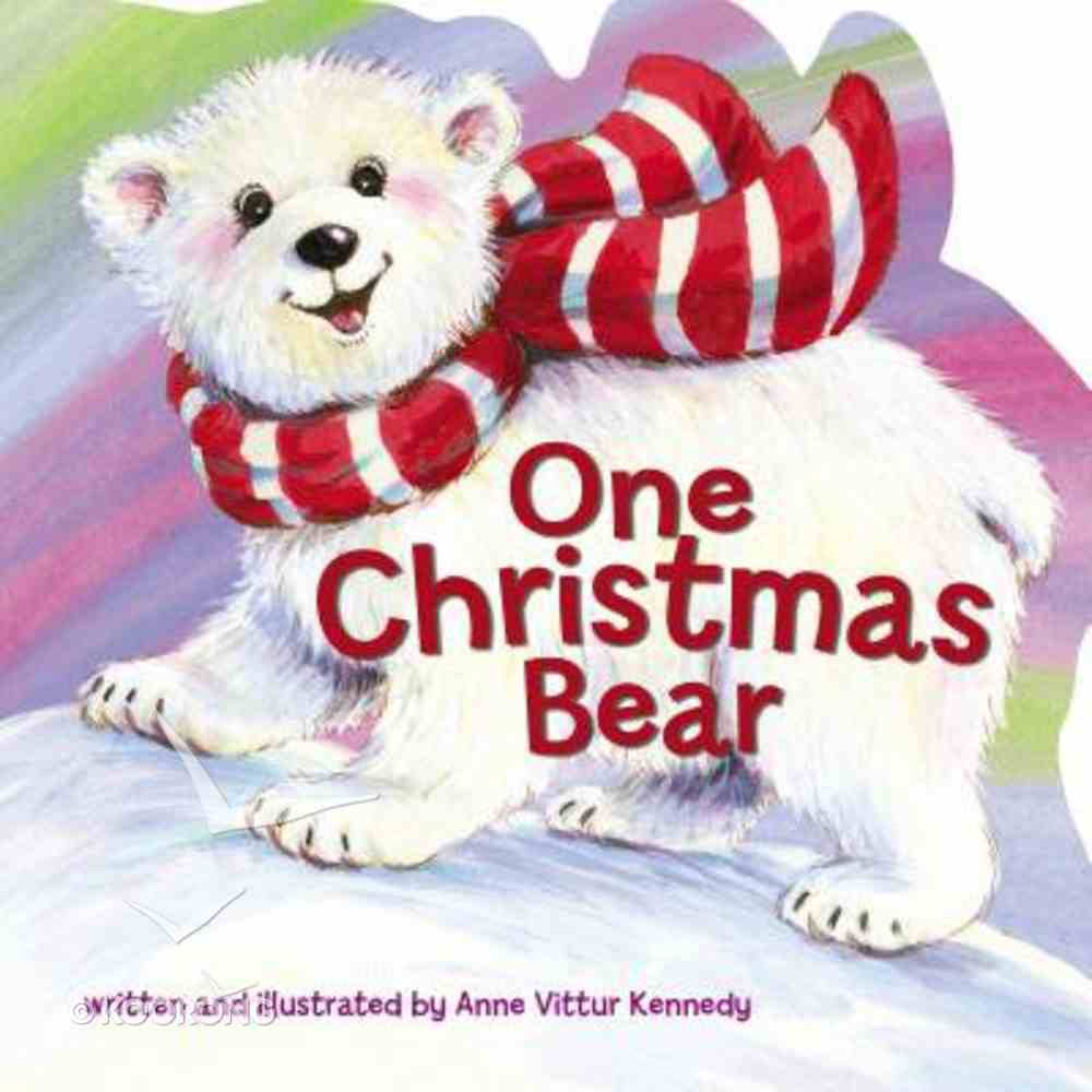 One Christmas Bear Board Book