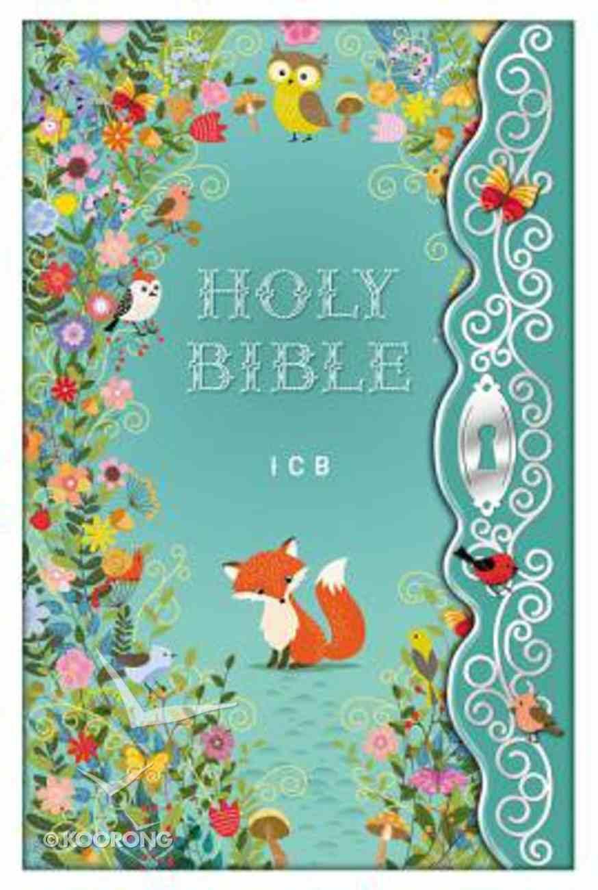 ICB Blessed Garden Bible (Black Letter Edition) Hardback