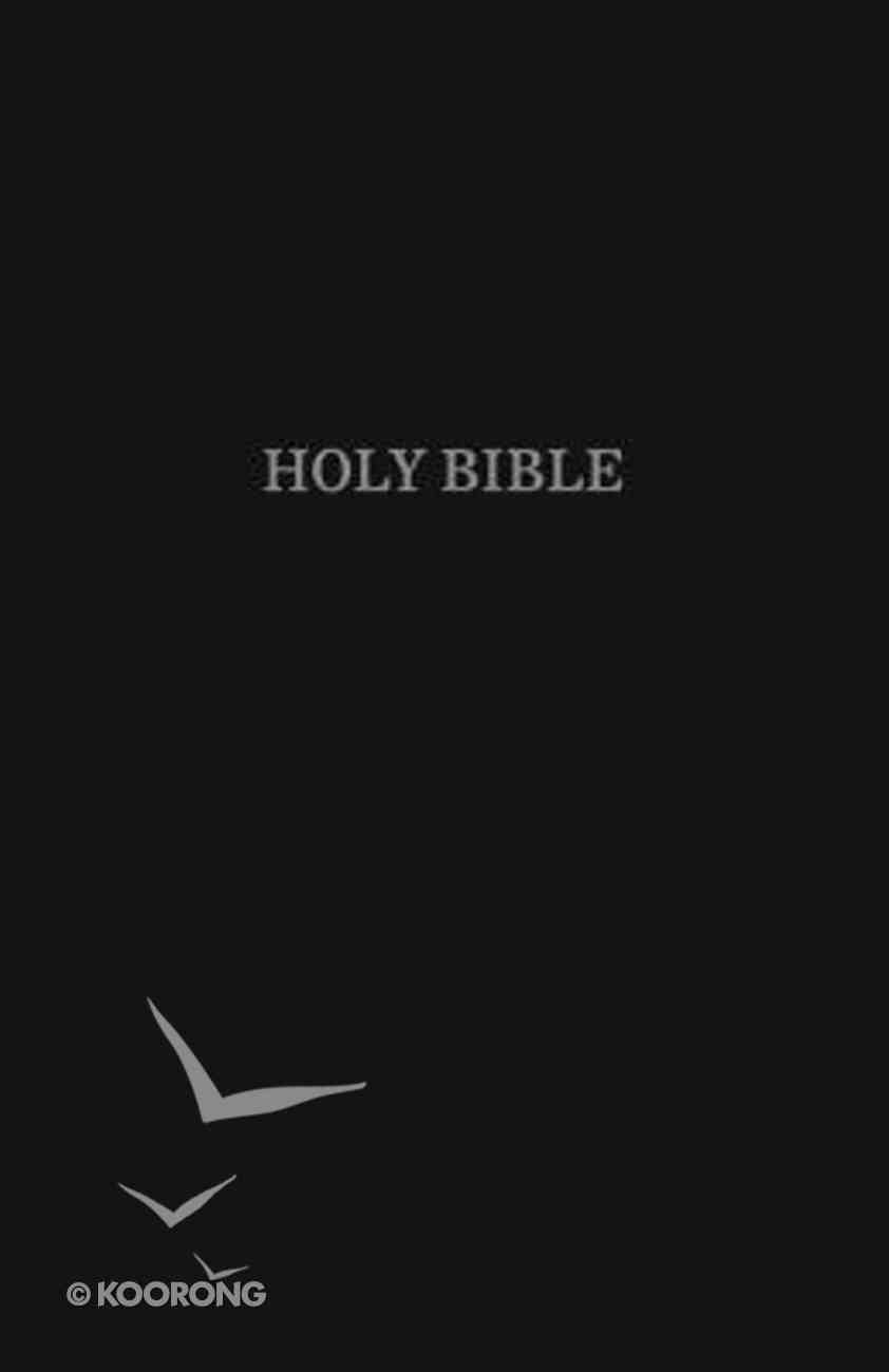 KJV Pew Bible Black (Red Letter Edition) Hardback