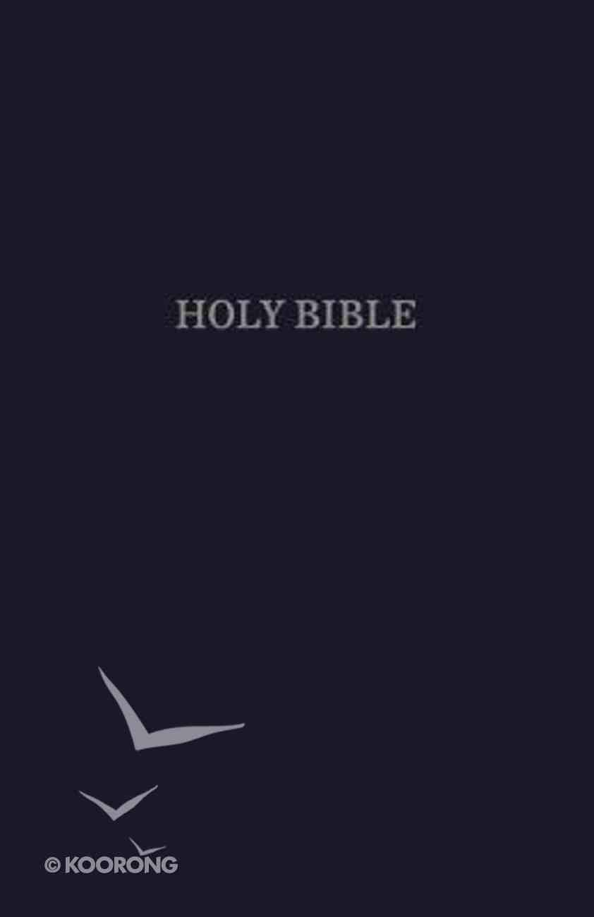 KJV Pew Bible Blue (Red Letter Edition) Hardback