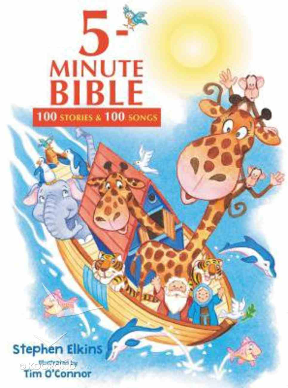 5-Minute Bible: 100 Stories and Songs Hardback
