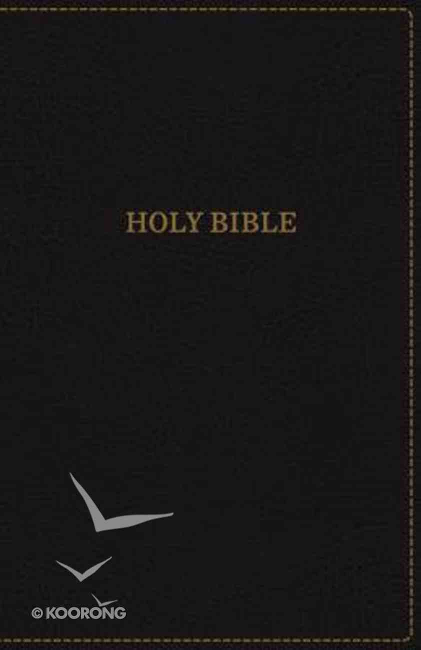 KJV Thinline Bible Compact Black (Red Letter Edition) Premium Imitation Leather