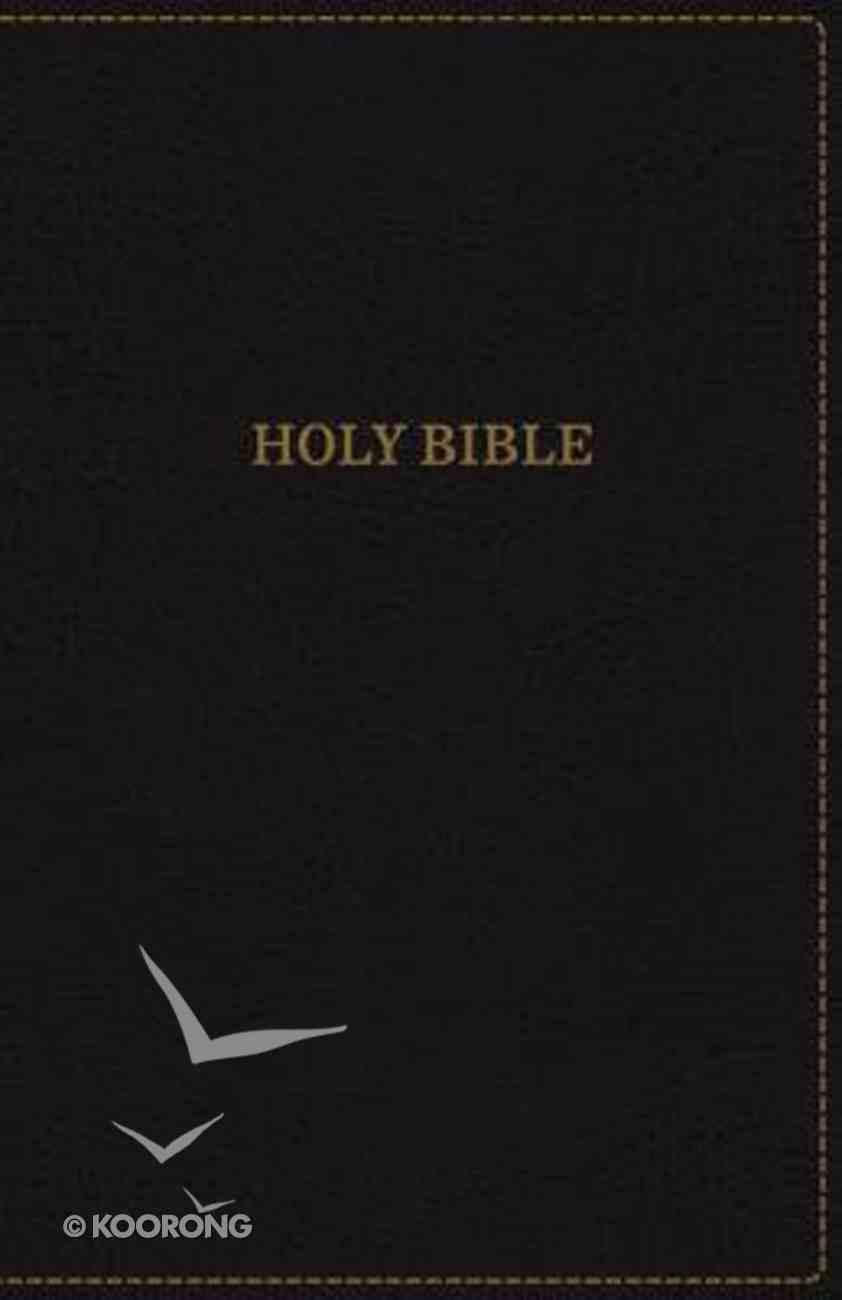 KJV Thinline Bible Black (Red Letter Edition) Premium Imitation Leather