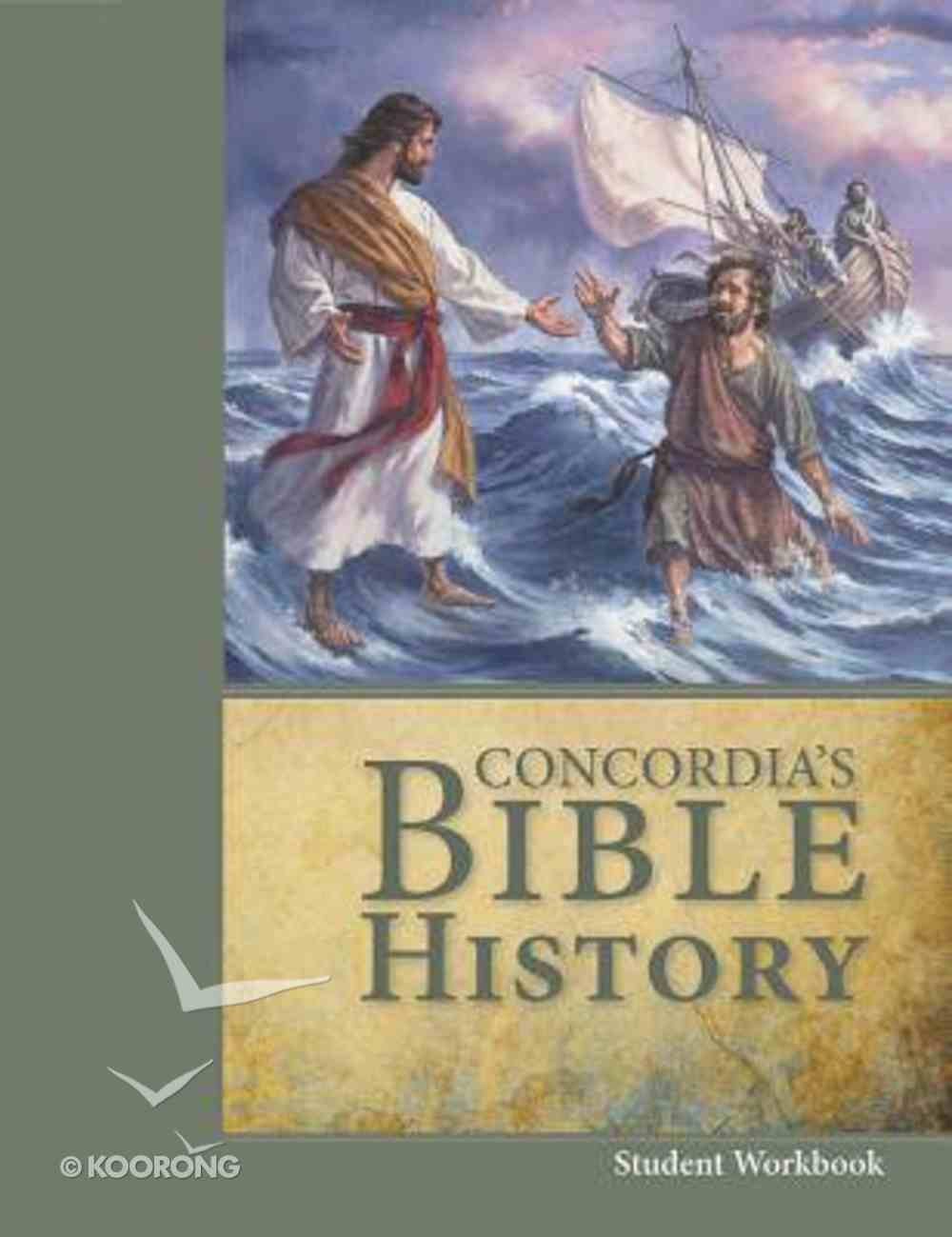 Concordia's Bible History (Workbook) Paperback