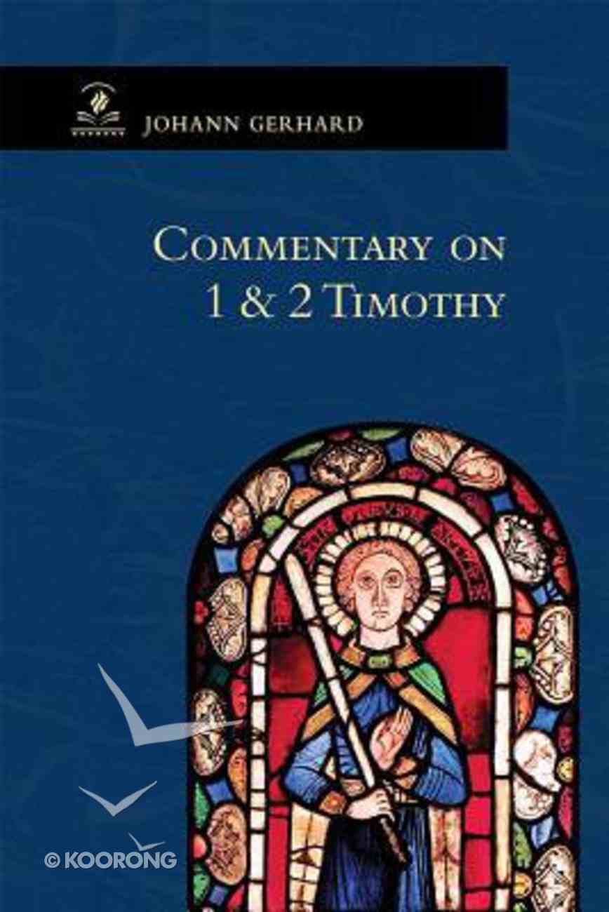 Commentary on 1 & 2 Timothy Paperback
