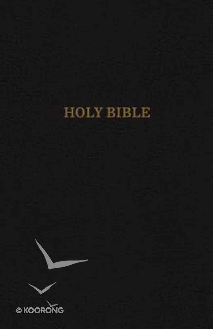 KJV Reference Indexed Bible Super Giant Print Black (Red Letter Edition) Imitation Leather