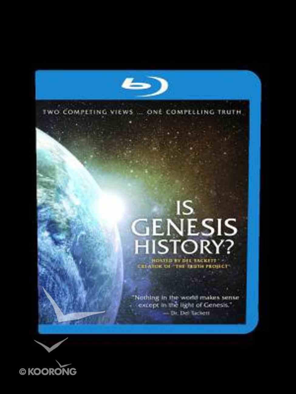 Is Genesis History? (Blu-ray) DVD