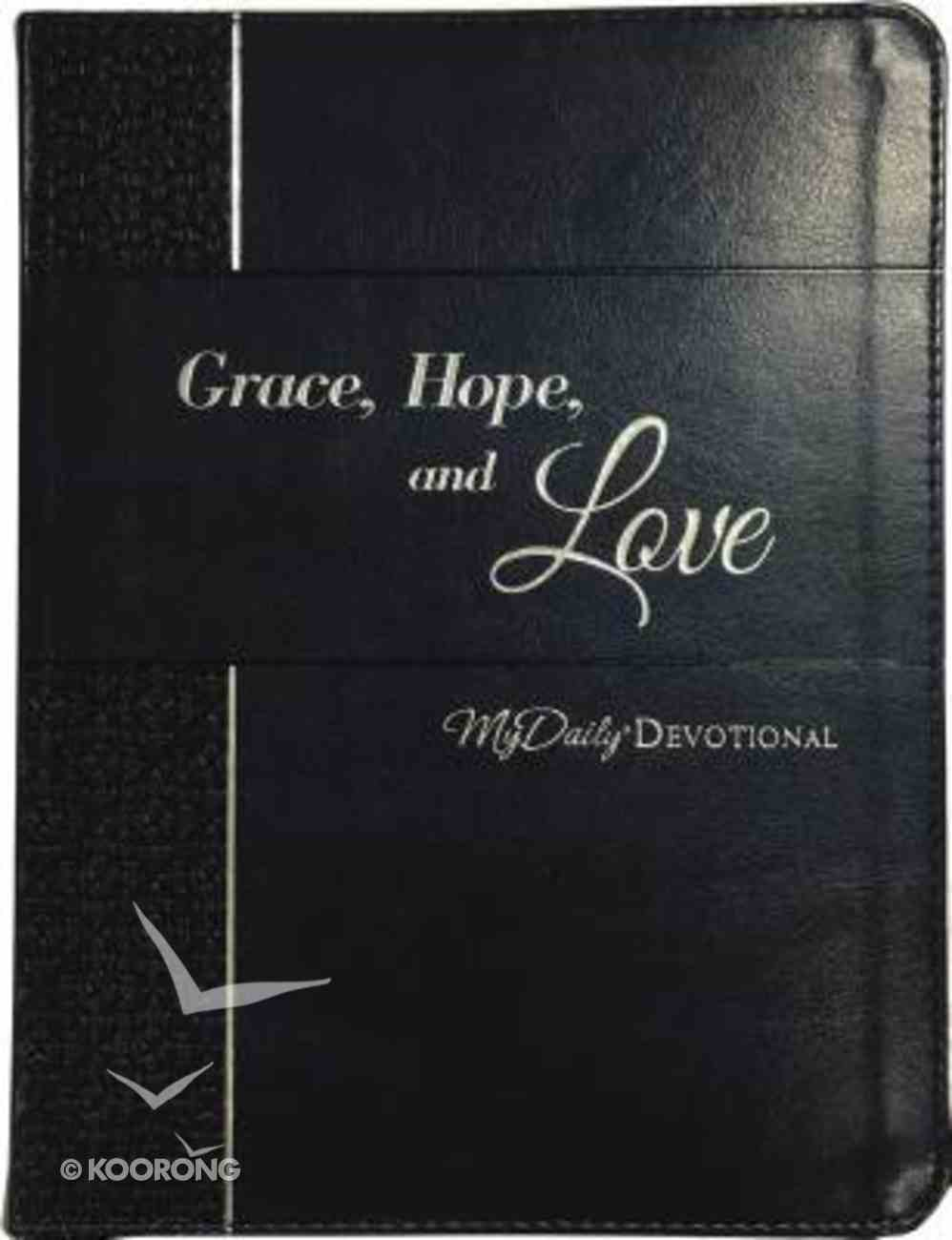 Mydaily Devotional: Grace, Hope, and Love (365 Daily Devotions Series) Imitation Leather
