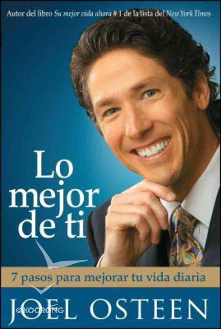 Lo Mejor De Ti (Become A Better You) Paperback