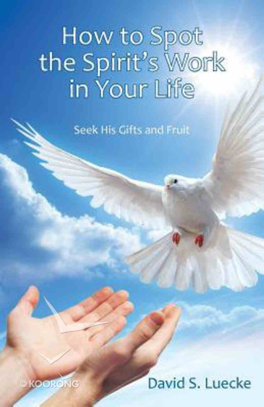 How to Spot the Spirit's Work in Your Life: Seek His Gifts and Fruit Paperback