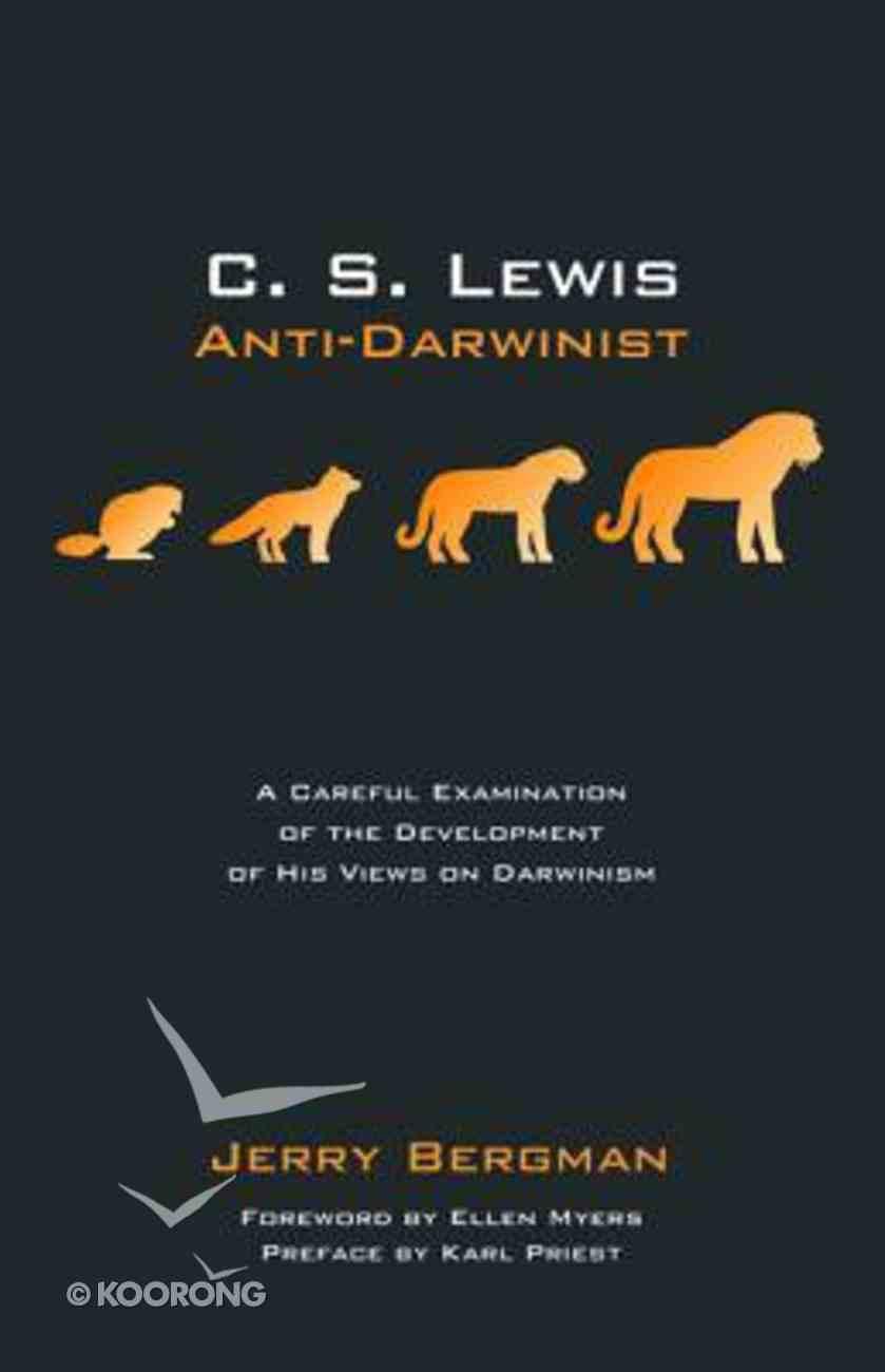 Lewis: Anti-Darwinist Paperback
