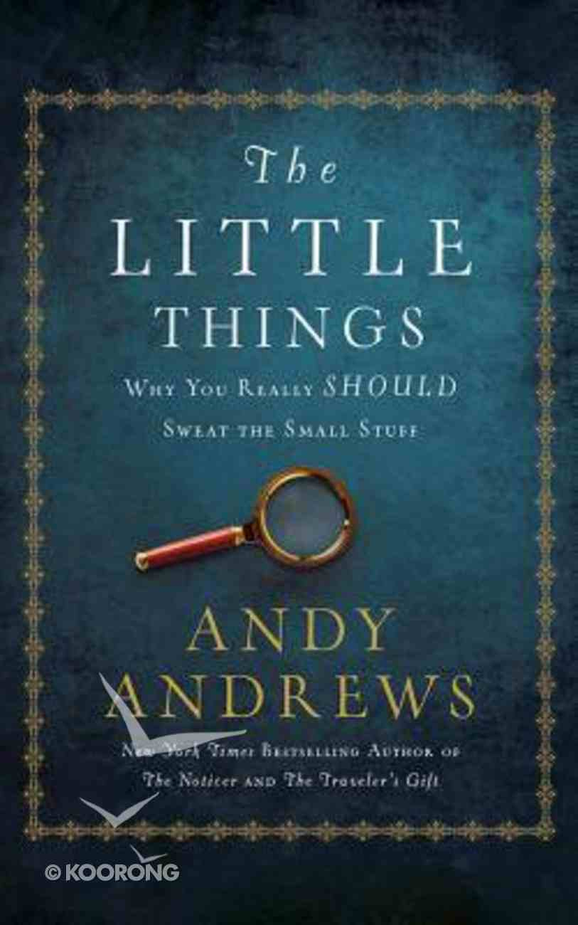 The Little Things (Unabridged, 2 Cds) CD