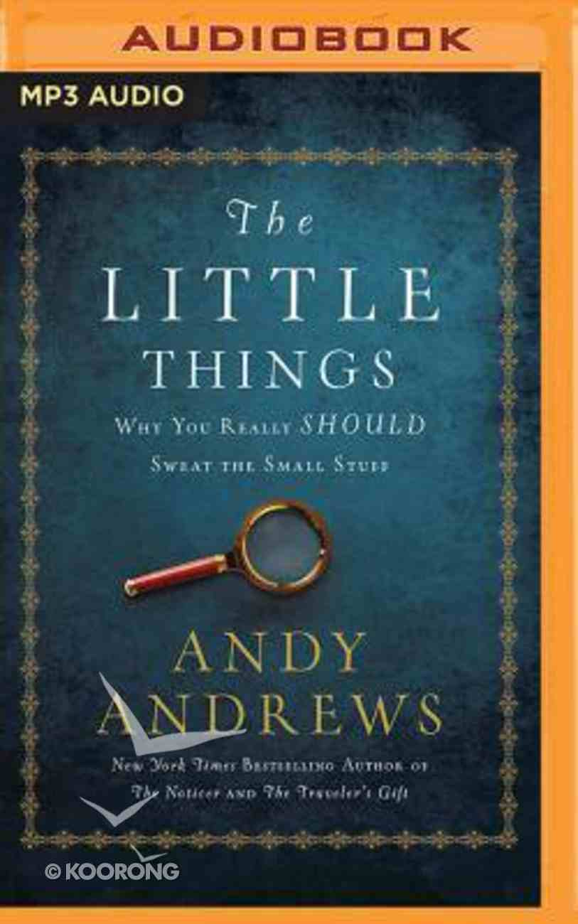The Little Things (Unabridged, Mp3) CD