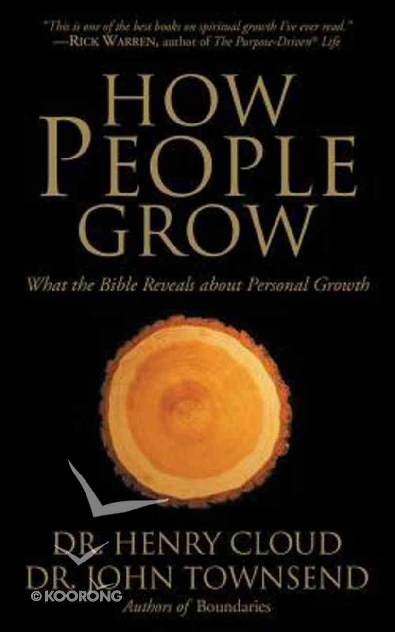 How People Grow: What the Bible Reveals About Personal Growth (Abridged, 2 Cds) CD