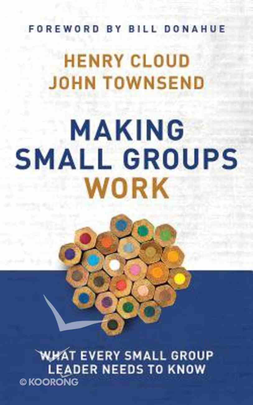 Making Small Groups Work: What Every Small Group Leader Needs to Know (Unabridged, 7 Cds) CD