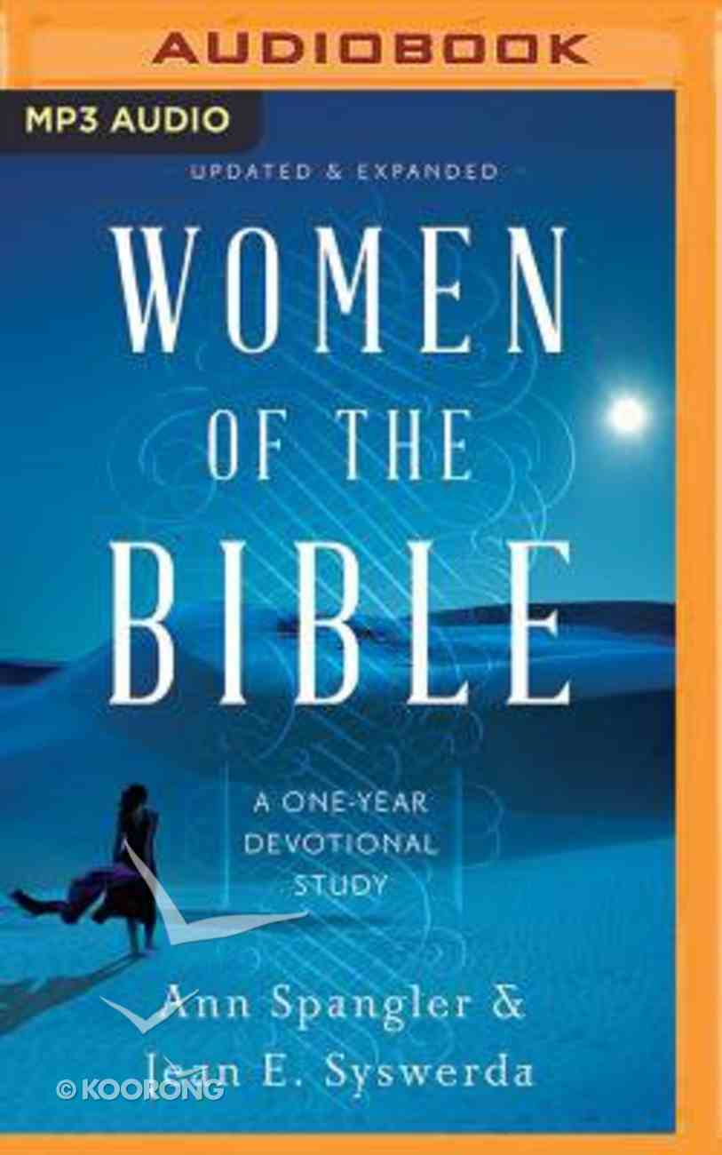 Women of the Bible: A One-Year Devotional Study (Unabridged, Mp3) CD