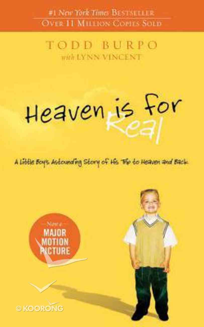 Heaven is For Real: A Little Boy's Astounding Story of His Trip to Heaven and Back (Unabridged 4cds) CD