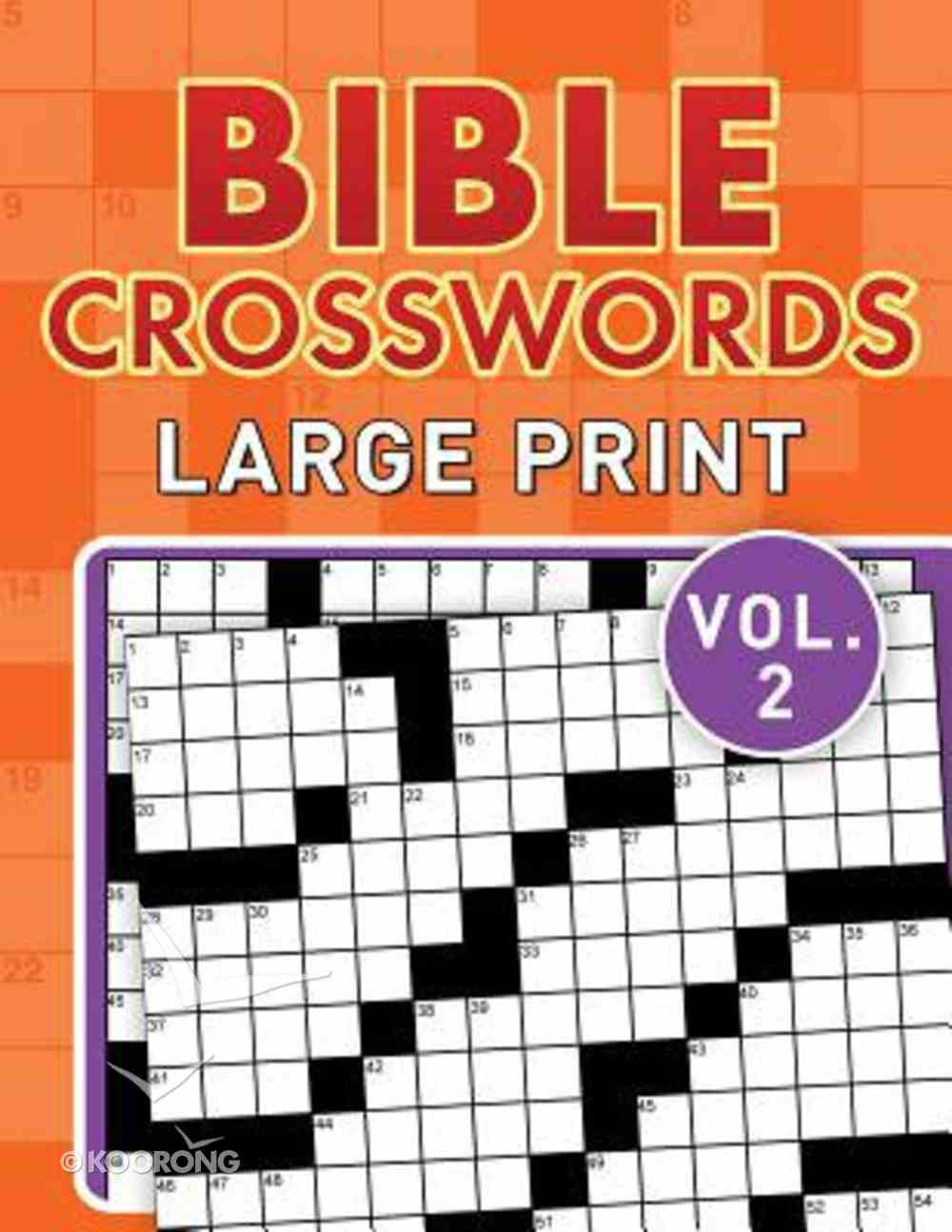 Bible Crosswords Large Print (Vol. 2) Paperback