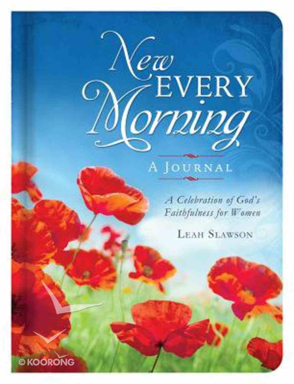 New Every Morning Devotional Journal Hardback