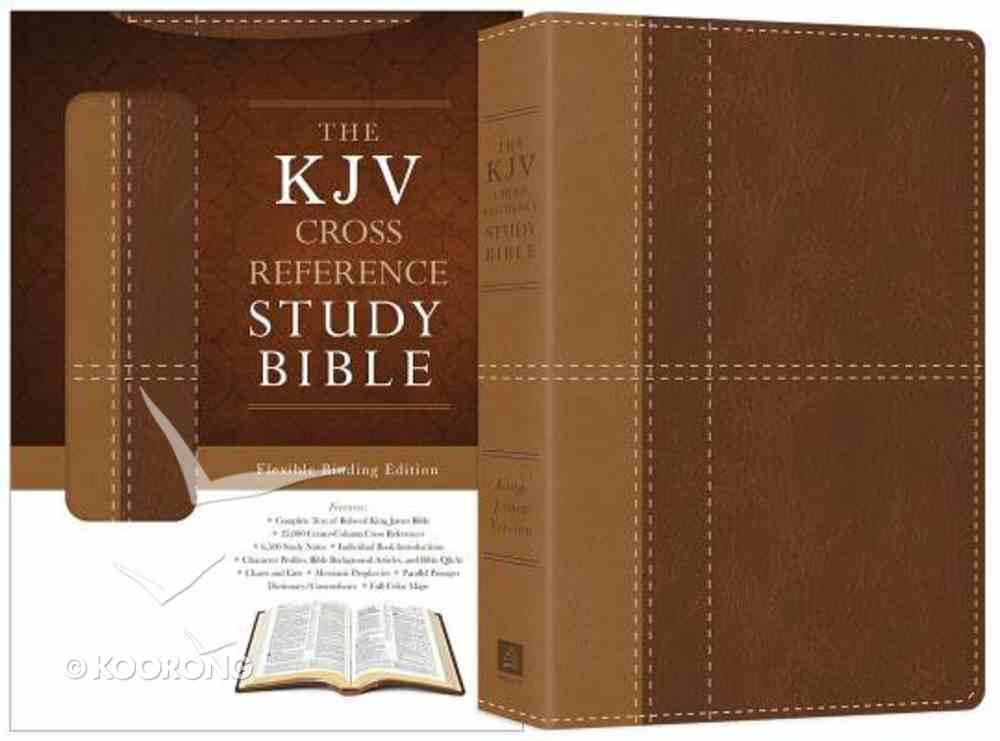 KJV Cross Reference Study Bible Brown Imitation Leather