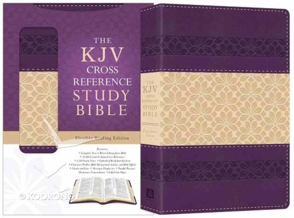 KJV Cross Reference Study Bible Purple Imitation Leather