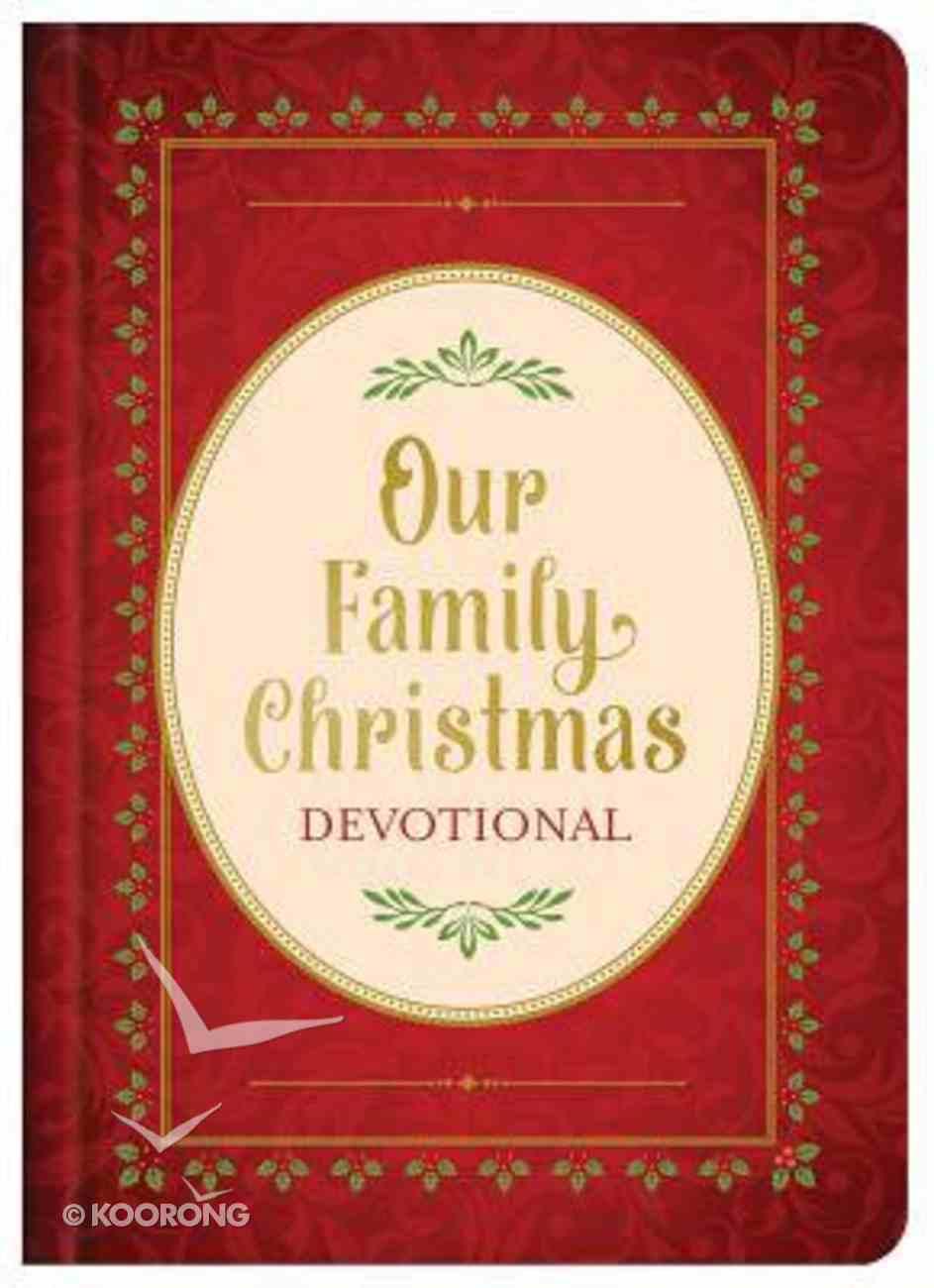Our Family Christmas Devotional Hardback