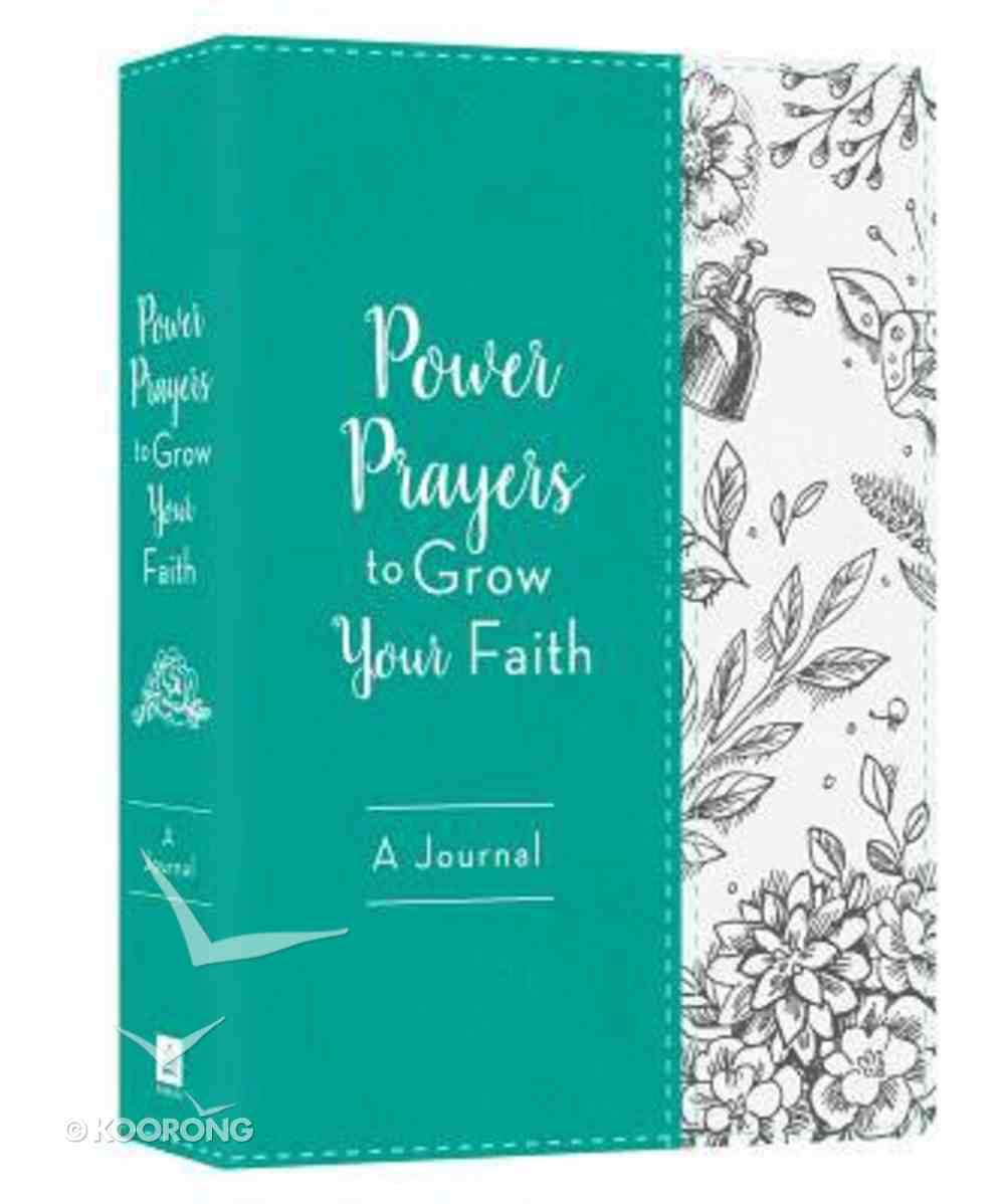 Power Prayers to Grow Your Faith Journal Imitation Leather