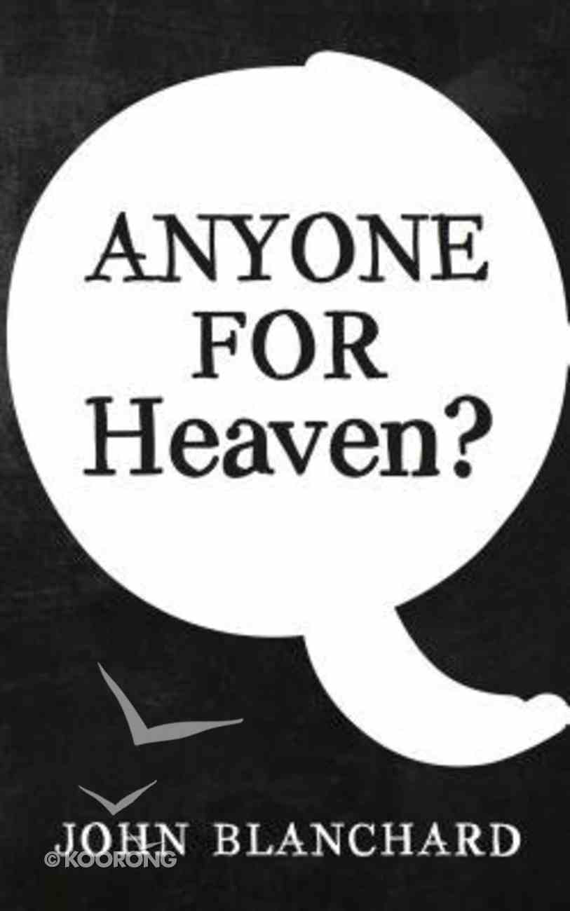Anyone For Heaven? Booklet
