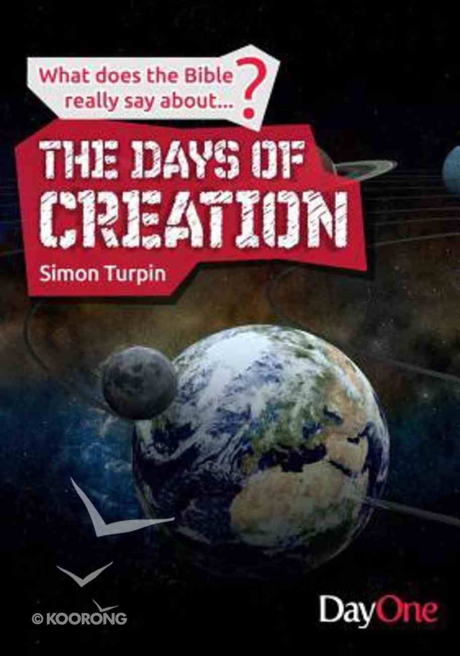 The Days of Creation Paperback