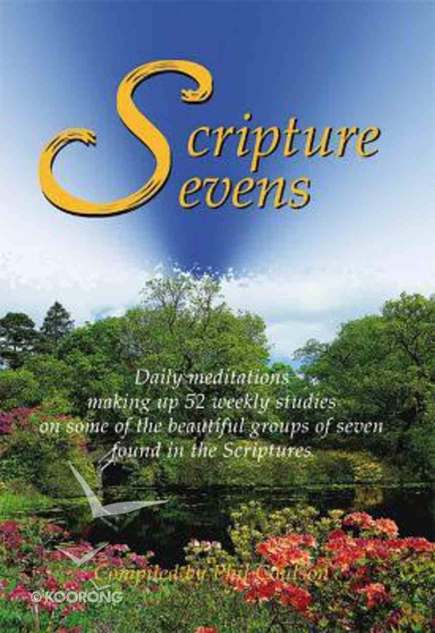 Scripture Sevens (Vol 1) PB (Smaller)