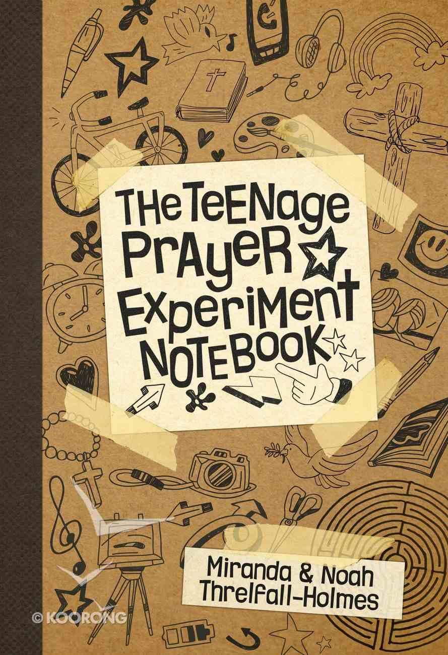The Teenage Prayer Experiment Notebook Paperback