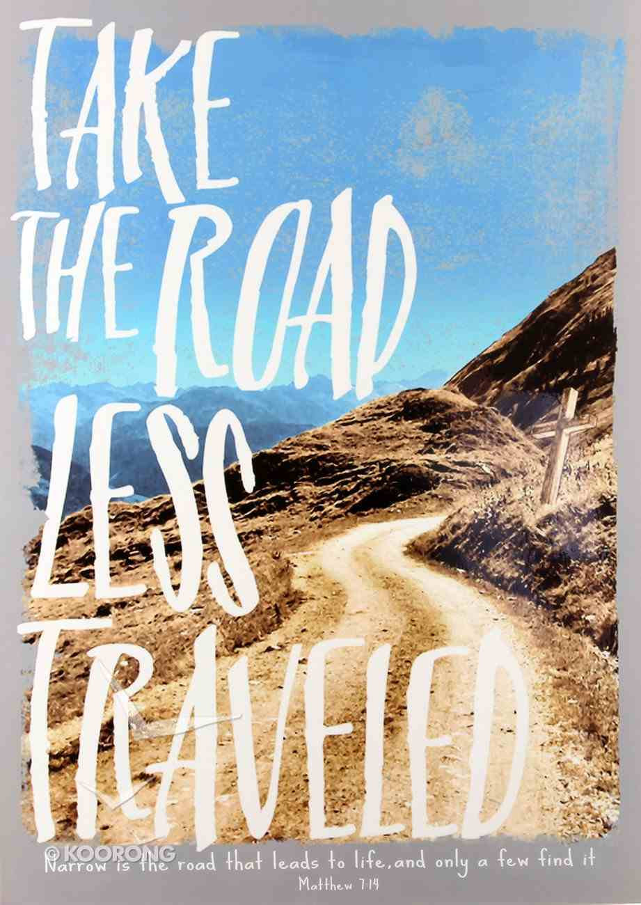 Poster Large: Road Less Traveled Poster