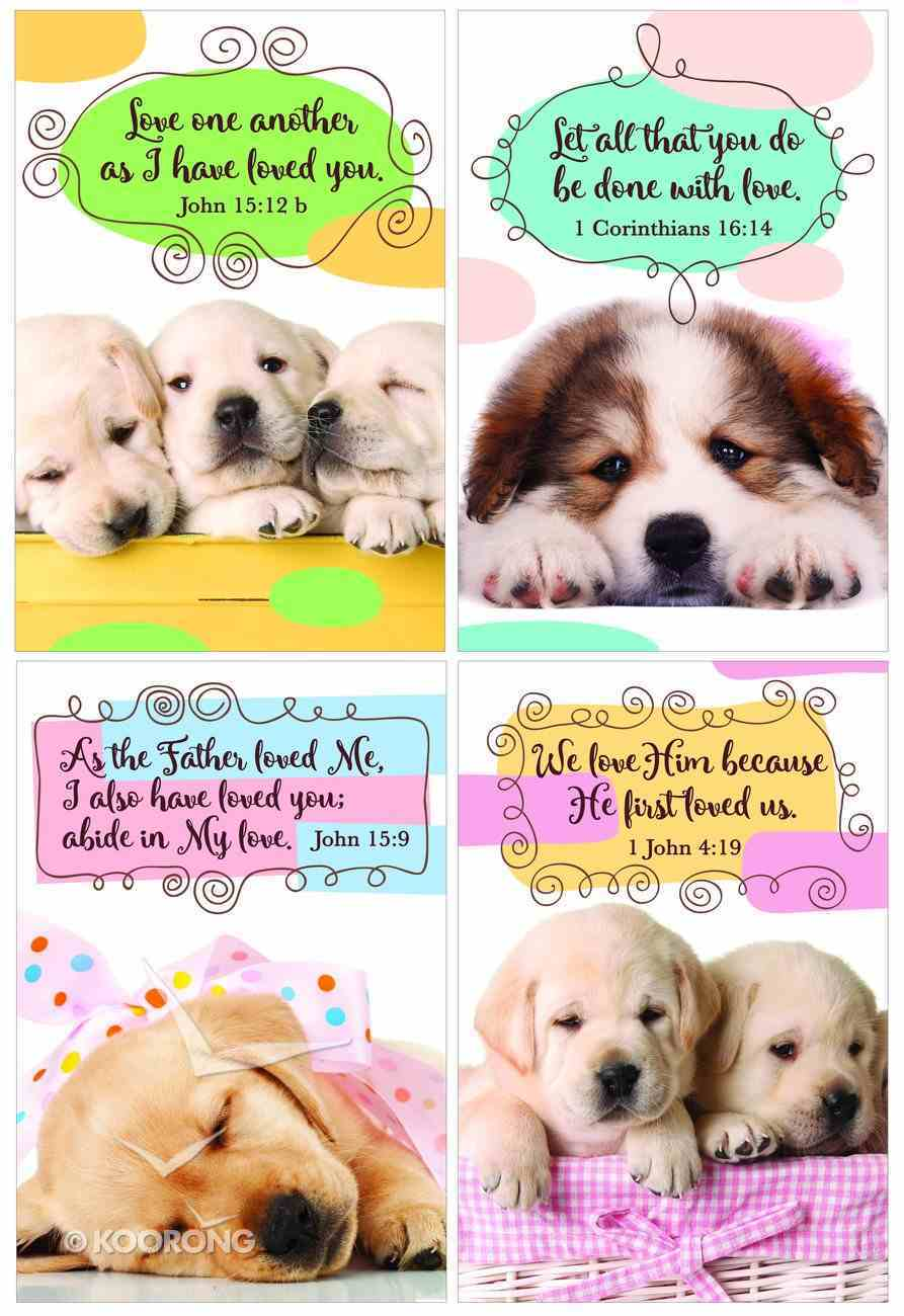 Notepad Set of 4: Puppy Series Stationery