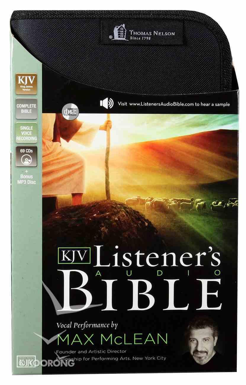 The KJV Listener's Audio Bible CD-rom