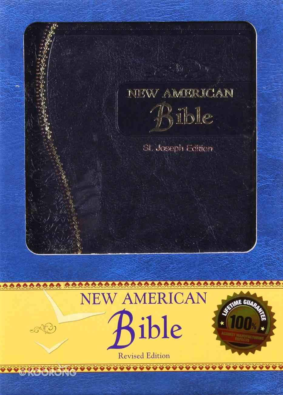 Nab St Joseph Gift Edition Blue Medium Size Imitation Leather