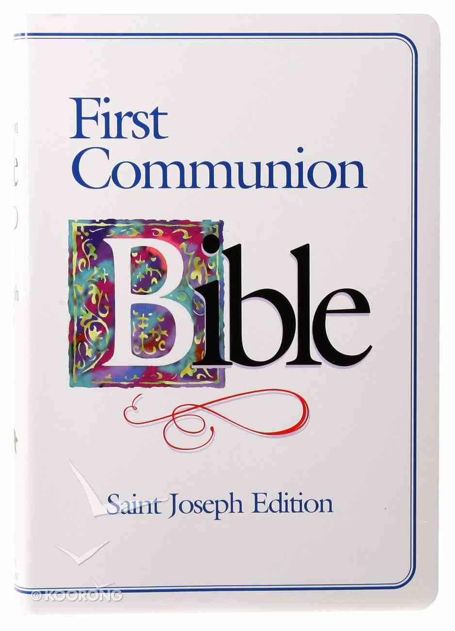 Nab St Joseph First Communion Bible (Boys) Hardback