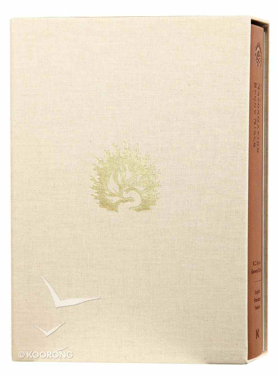 ESV the Reformation Study Bible Light Brown Imitation Leather