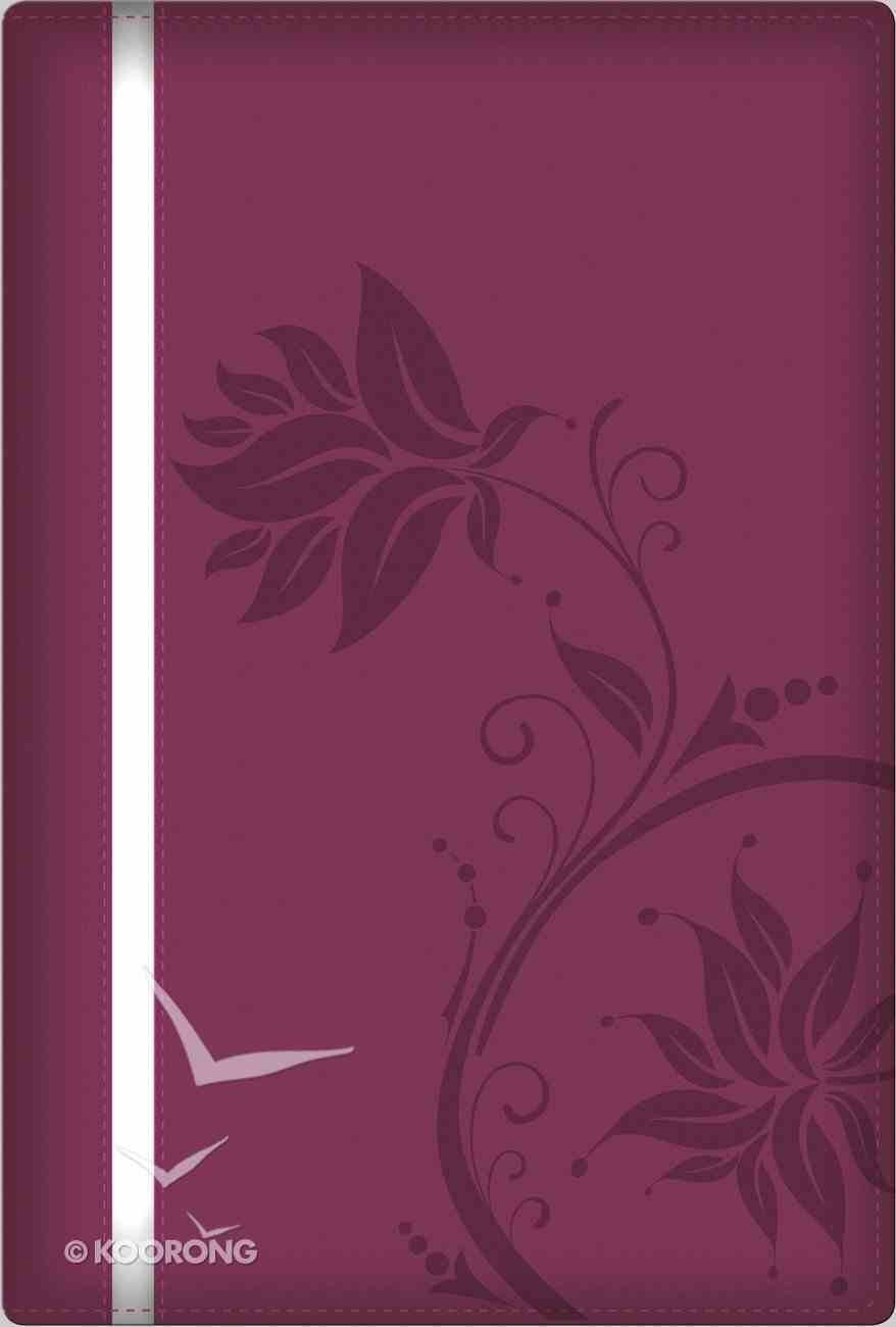 NKJV a Woman After God's Own Heart Bible Berry Imitation Leather