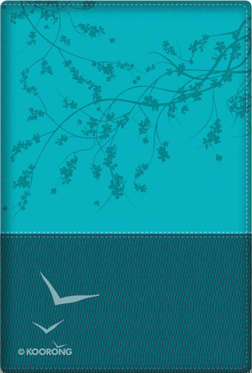 NKJV a Woman After God's Own Heart Bible Teal Imitation Leather